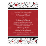 Valentine's Day Wedding Invitation Cards