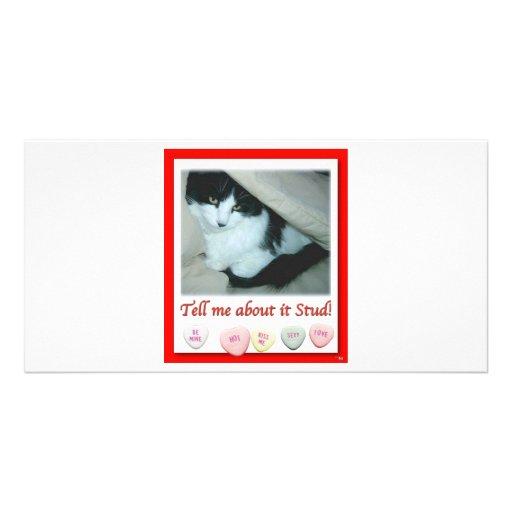 Valentine's Day Wedding Photo Card