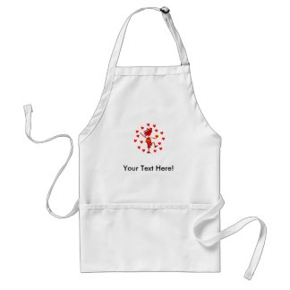 Valentines Day Whimsy Gifts & T Shirts Adult Apron