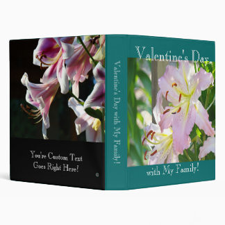 Valentine's Day with My Family! binder Photos book