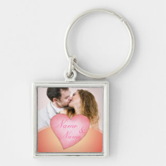 Valentine's day you and me keychain