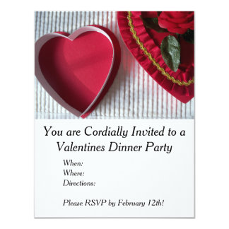 Valentines Dinner Party Invitation