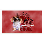 Valentines - Dont Be Cruel - Chihuahua - Gizmo Business Card Templates