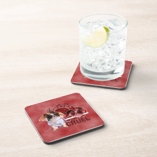 Valentines - Dont Be Cruel - Chihuahua - Gizmo Drink Coasters
