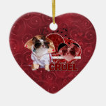 Valentines - Dont Be Cruel - Chihuahua - Gizmo Christmas Tree Ornaments