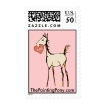 Valentines Foal Postage