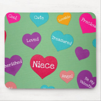 Valentine's for a sweet Niece! Mouse Pad