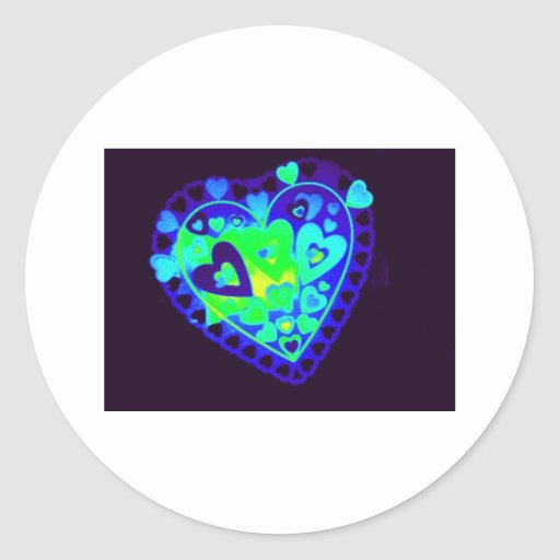 valentines for everyone Photo 9221 Classic Round Sticker