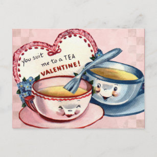 Valentine's for Kids Holiday Postcard