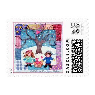 Valentines Forever Postage Stamps