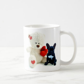 Valentine's French Bulldog puppy mug