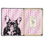 Valentines - french Bulldog Silhouette iPad Air Cases