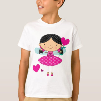 Valentines Girls Kid Gift T-Shirt