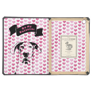 Valentines - Great Dane Silhouette - Baron Cover For iPad Air