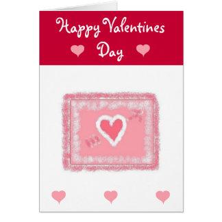 Valentines Greeting Greeting Card