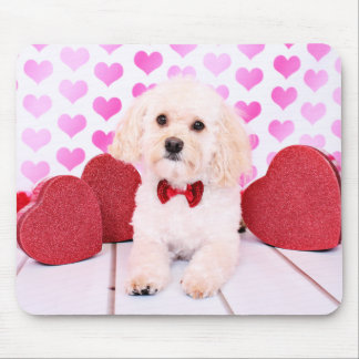 Valentines - Havanese - Mason Mouse Pad