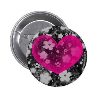 Valentine's Heart #1 Pinback Button