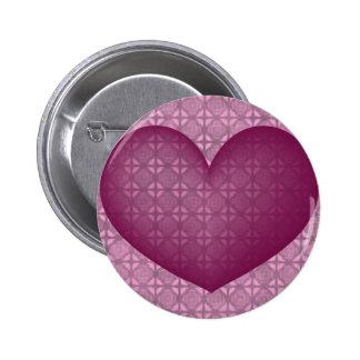 Valentine's Heart #3 Button