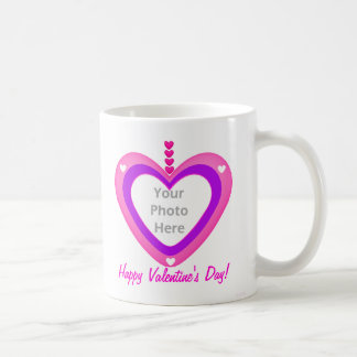 Valentines Heart Layers (photo frame) Coffee Mug