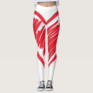 Valentine's Heart Leggings