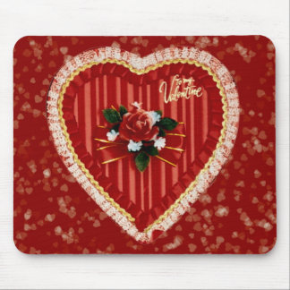 Valentine's Heart Mousepad
