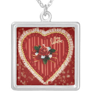 Valentine's Heart Personalized Necklace
