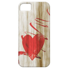 Valentines heart phone more cover iPhone 5 case