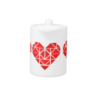 Valentine's Heart Teapot