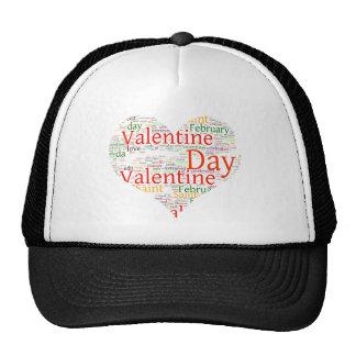 Valentine's Heart Trucker Hat