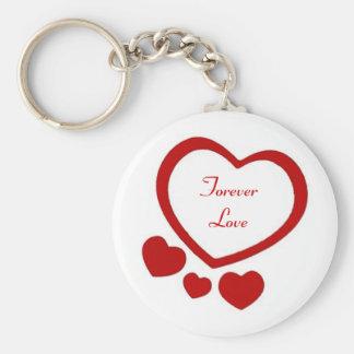 Valentines Hearts Keychain