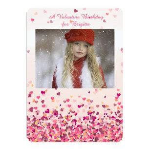 valentines birthday invitations