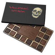 Valentine's Horror chocolate box