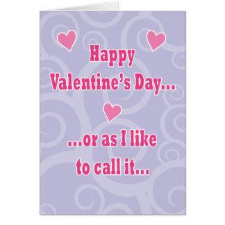 Valentine's Hump Day Card