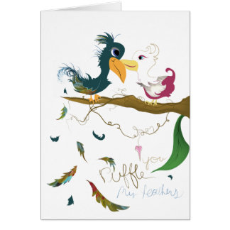 'Valentine's is for Lovebirds' Card