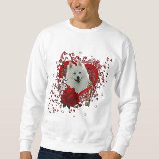 Valentines - Key to My Heart - American Eskimo Sweatshirt