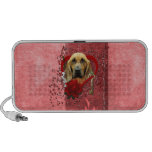 Valentines - Key to My Heart - Bloodhound - Penney Portable Speaker