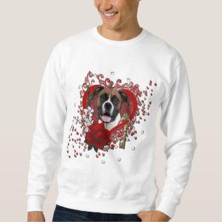 Valentines - Key to My Heart - Boxer - Vindy Sweatshirt