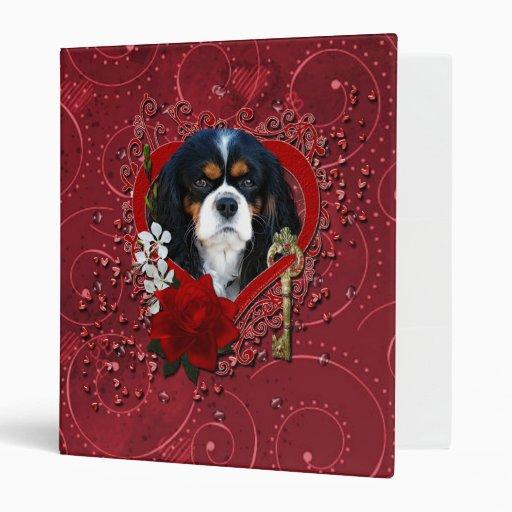 Valentines - Key to My Heart - Cavalier - Dark Binder