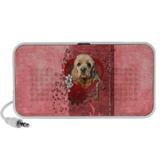Valentines - Key to My Heart - Cocker Spaniel doodle