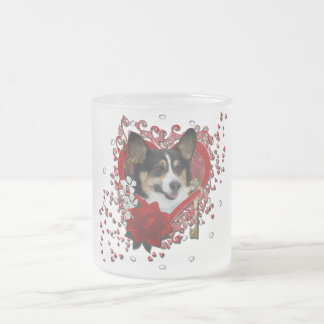 Valentines - Key to My Heart - Corgi Mug