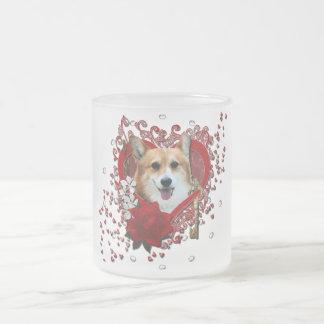Valentines - Key to My Heart - Corgi - Owen Coffee Mugs