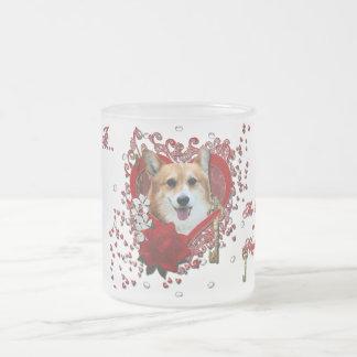 Valentines - Key to My Heart - Corgi - Owen Mug