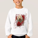 Valentines - Key to My Heart - GoldenDoodle Sweatshirt