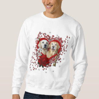 Valentines - Key to My Heart Goldens Corona Tebow Sweatshirt
