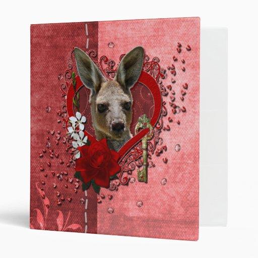 Valentines - Key to My Heart - Kangaroo Binders