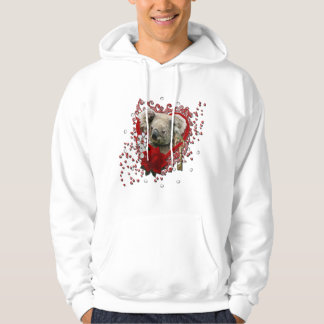 Valentines - Key to My Heart - Koala Bear Hoodie