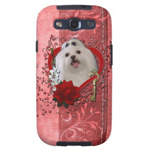 Valentines - Key to My Heart - Maltese Galaxy SIII Cover