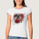 Valentines - Key to My Heart - Schnauzer T-Shirt