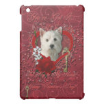 Valentines - Key to My Heart West Highland Terrier iPad Mini Case
