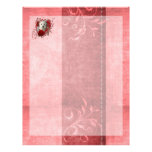 Valentines - Key to My Heart West Highland Terrier Customized Letterhead